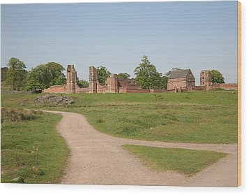 Bradgate Park House Wood Print by Mark Severn