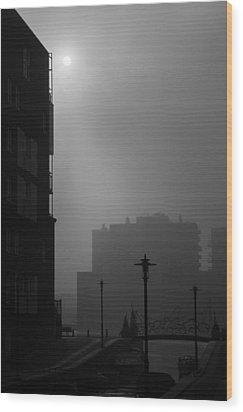 Brantasgracht Wood Print by Marcel Huibers