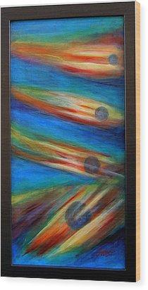 Break Away Wood Print