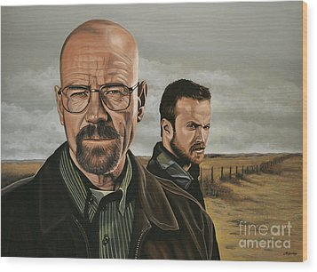 Breaking Bad Wood Print by Paul Meijering