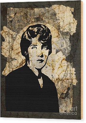 Breaking Up Wood Print by Judy Wood