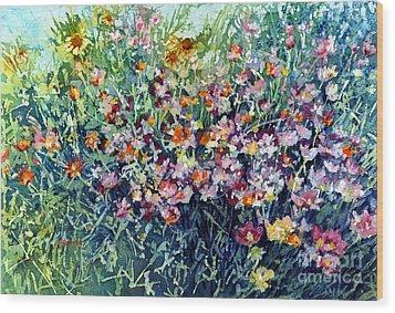 Breeze And Daydream Wood Print by Hailey E Herrera