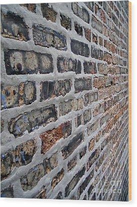 Brick Pattern-2 Wood Print by Gene Mark