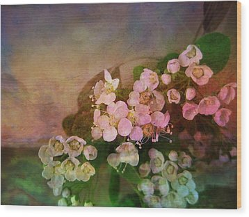 Bridal Memories Wood Print by Shirley Sirois