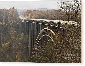 Bridge Wood Print by Blink Images