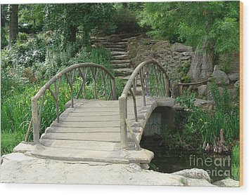 Bridge To A New Life Wood Print by Janette Boyd