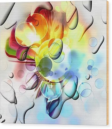 Bright By Nico Bielow Wood Print