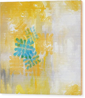 Bright Summer Wood Print by Lourry Legarde