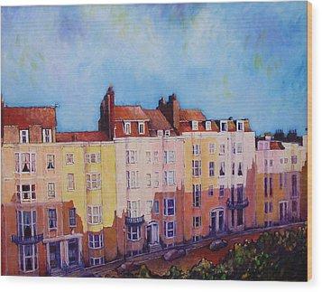 Brighton Beach Wood Print