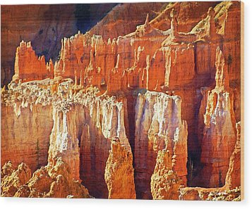 Wood Print featuring the photograph Brilliant Bryce by Marty Koch