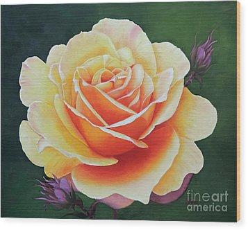 Brilliant Rose Wood Print
