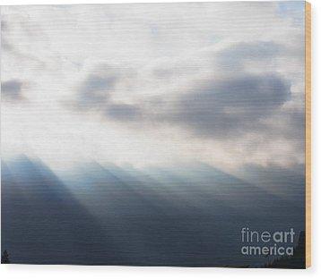 Bringer Of Light Wood Print
