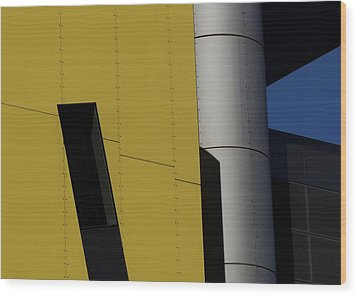 Brisbane Square Abstract 1 Wood Print