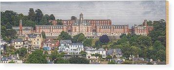 Britannia Royal Naval College Wood Print
