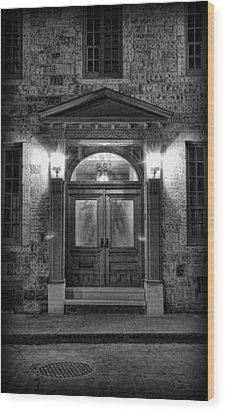 British - Jack The Ripper's Doorway II Wood Print by Lee Dos Santos