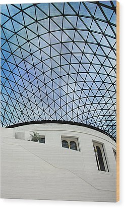 British Museum Wood Print by Stephen Norris