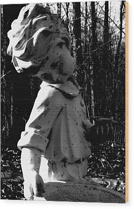 Broken Memorial Wood Print by Kristie  Bonnewell