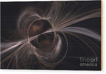 Brown Abstract Wood Print by Arlene Sundby