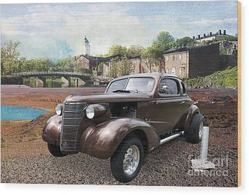 Wood Print featuring the photograph Brown Classic Collector by Liane Wright