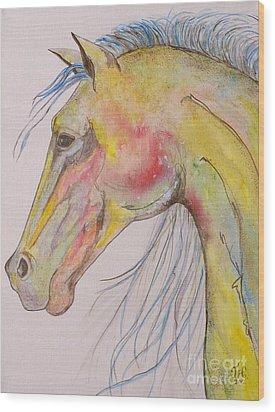 Bruce Wood Print by Jane Chesnut