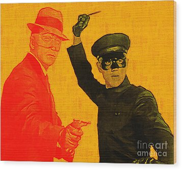 Bruce Lee Kato And The Green Hornet 20130216 Wood Print by Wingsdomain Art and Photography