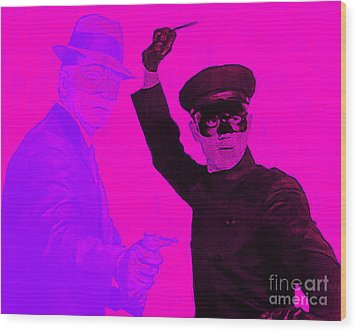 Bruce Lee Kato And The Green Hornet 20130216m88 Wood Print by Wingsdomain Art and Photography