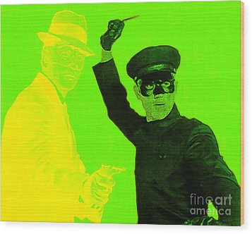 Bruce Lee Kato And The Green Hornet 20130216p54 Wood Print by Wingsdomain Art and Photography