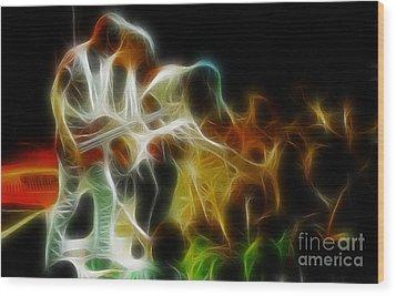 Bryan Adams-neighbors-ge5-fractal Wood Print by Gary Gingrich Galleries