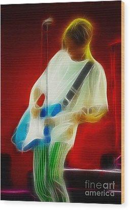 Bryan Adams-sofar-94-gb3-fractal Wood Print by Gary Gingrich Galleries