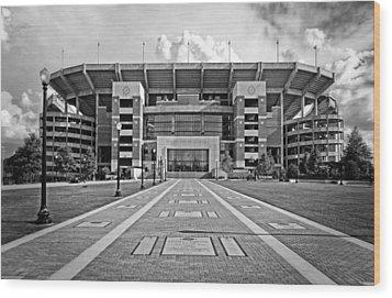 Bryant Denny Stadium 2011 Wood Print by Ben Shields