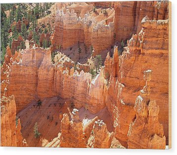 Bryce Canyon 138 Wood Print by Maria Huntley