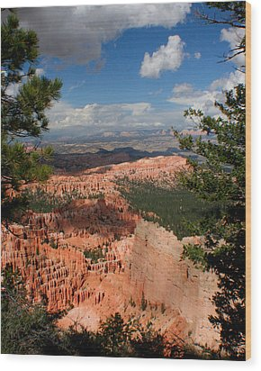 Wood Print featuring the photograph Bryce Canyon by Jon Emery