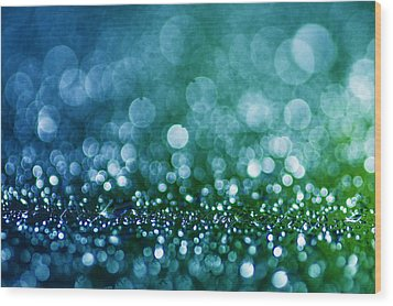 Wood Print featuring the photograph Bubbly by Arkady Kunysz