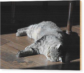 Bubby Wood Print
