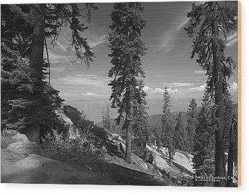 Buck Rock Fire Lookout Wood Print