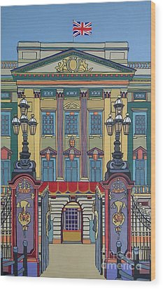 Buckingham Palace Wood Print by Nicky Leigh