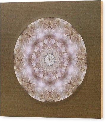 Buddha Blessing Wood Print