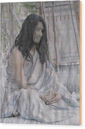 Buddha Boy Now A Man Wood Print
