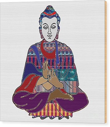 Buddha In Meditation Buddhism Master Teacher Spiritual Guru By Navinjoshi At Fineartamerica.com Wood Print