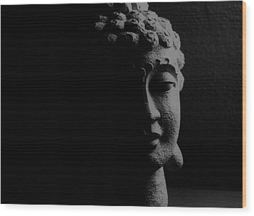 Wood Print featuring the photograph Buddha  by Jessica Shelton