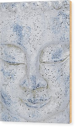 Buddha Statue  Wood Print by Tommytechno Sweden