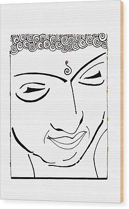 Buddha Xiv Wood Print