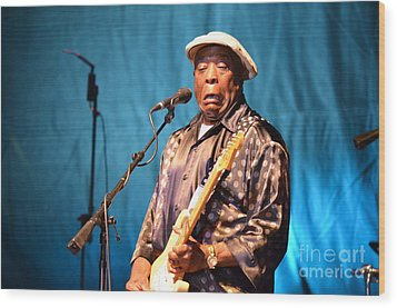 Buddy Guy 2 2012 Wood Print