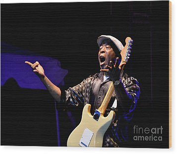 Buddy Guy 3 2012 Wood Print