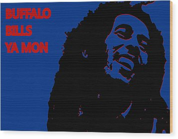 Buffalo Bills Ya Mon Wood Print