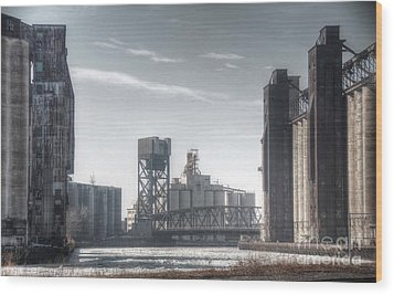 Buffalo Grain Mills Wood Print