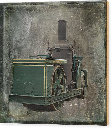 Buffalo Springfield Steam Roller Wood Print