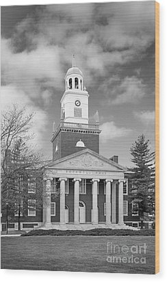 Buffalo State College Rockwell Hall Wood Print by University Icons