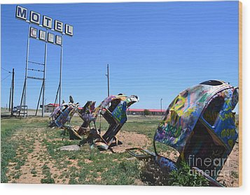 Wood Print featuring the photograph Bug Ranch by Utopia Concepts