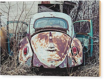 Wood Print featuring the photograph Buggin' Out by Brian Bonham
